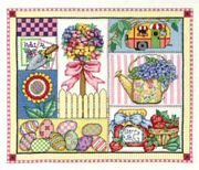 Spring Design - Bobbie G Designs Cross Stitch Kit
