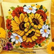 Vervaco Floral Posy Cross Stitch Kit