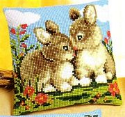 Vervaco Rabbit Friends Cross Stitch Kit