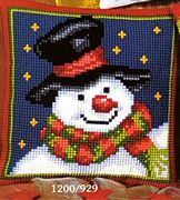 Vervaco Snowman Christmas Cross Stitch Kit