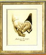 Vervaco Wedding Happiness Wedding Sampler Cross Stitch Kit