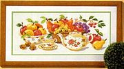 Vervaco Afternoon Tea Cross Stitch Kit
