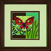 Dimensions Butterfly Impression Tapestry Kit