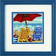 Beach Chair Duo - Dimensions Tapestry Kit