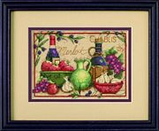 Dimensions Mediterranean Flavors Cross Stitch Kit