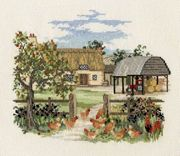 Derwentwater Designs Appletree Farm Cross Stitch Kit
