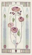 Derwentwater Designs Mackintosh Panel - Oriental Rose