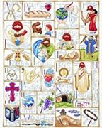 Design Works Crafts Inspirational ABC Cross Stitch Kit