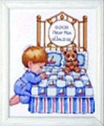 Design Works Crafts Bedtime Prayer Boy Sampler Birth Sampler Cross Stitch Kit