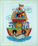 Design Works Crafts Noahs Ark Sampler Birth Sampler Cross Stitch Kit