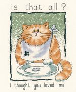 Is that all? - Aida - Heritage Cross Stitch Kit