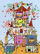 Bothy Threads Princess Palace Cross Stitch Kit