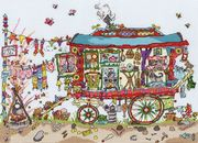 Bothy Threads Gypsy Wagon Cross Stitch Kit