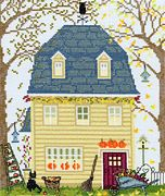 Bothy Threads Fall Cross Stitch Kit