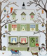 Bothy Threads Winter Cross Stitch Kit