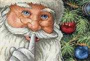 Santa's Secret - Dimensions Cross Stitch Kit