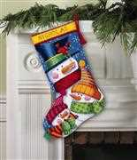 Freezing Season Stocking - Dimensions Tapestry Kit
