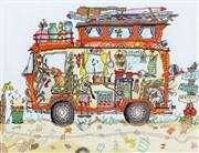 Bothy Threads Camper Van Cross Stitch Kit