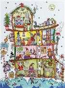 Bothy Threads North Pole House Christmas Cross Stitch Kit