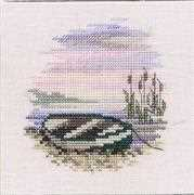 Derwentwater Designs Rowing Boat Cross Stitch Kit