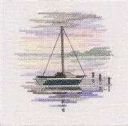Derwentwater Designs Sailing Boat Cross Stitch Kit