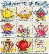 A Dictionary of Tea - Bothy Threads Cross Stitch Kit