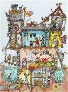 Bothy Threads Castle Cross Stitch Kit
