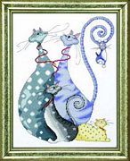 Cat Pack - Design Works Crafts Cross Stitch Kit