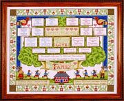 Design Works Crafts Family Tree Cross Stitch Kit