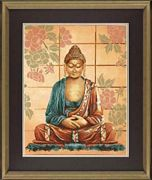 Lanarte Buddha Cross Stitch Kit
