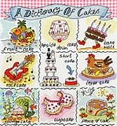 A Dictionary of Cakes - Bothy Threads Cross Stitch Kit