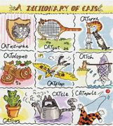 A Dictionary of Cats - Bothy Threads Cross Stitch Kit