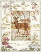 Derwentwater Designs Deer Cross Stitch Kit
