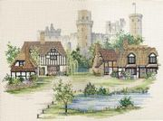 Derwentwater Designs Warwickshire Village Cross Stitch Kit
