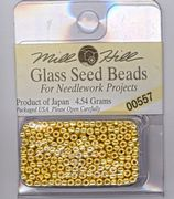 Mill Hill Seed Beads 00557 Old Gold