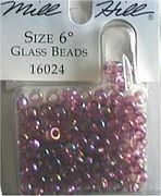 Glass Beads 16024 Heather Mauve