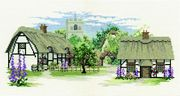 Derwentwater Designs Foxglove Lane Cross Stitch Kit
