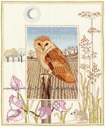 Derwentwater Designs Barn Owl Cross Stitch Kit