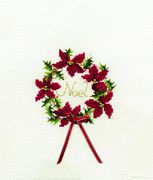 Christmas Wreath - Derwentwater Designs Cross Stitch Kit