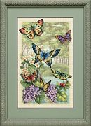Butterfly Forest - Dimensions Cross Stitch Kit