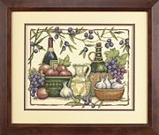 Tuscan Flavours - Dimensions Cross Stitch Kit
