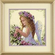 Dimensions Passion Flower Angel Cross Stitch Kit