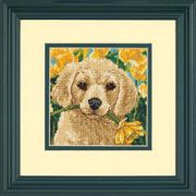 Dimensions Puppy Mischief Tapestry Kit