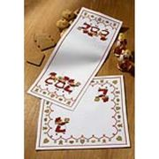 Christmas Baking Table Runner - Permin Cross Stitch Kit