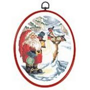 Permin The Birdtable Christmas Cross Stitch Kit
