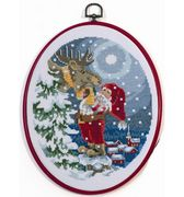 Keeping Warm - Permin Cross Stitch Kit