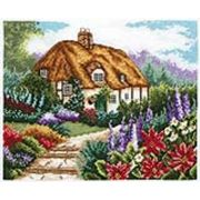 Anchor Cottage Garden in Bloom Cross Stitch Kit