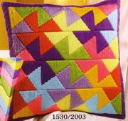 Bold Triangles - Vervaco Long Stitch Kit