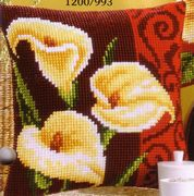 Vervaco Arum Lilies Cross Stitch Kit
