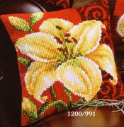 Vervaco Tiger Lily Cross Stitch Kit